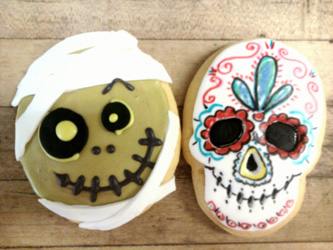 Halloween Cookies by Reynaldo's Bakery